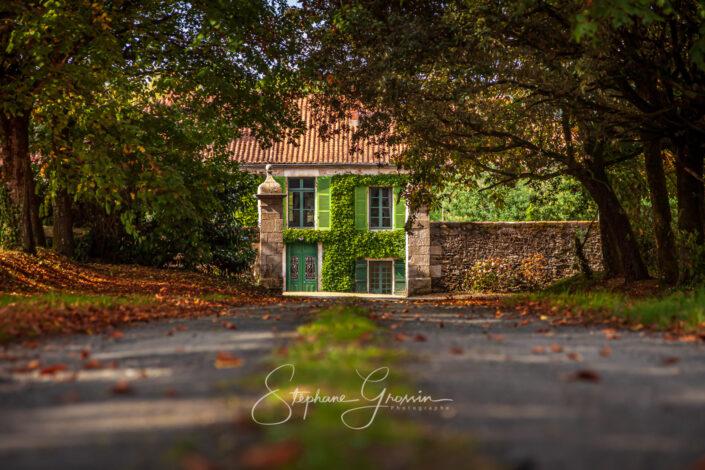 Le jardin de La Baudière