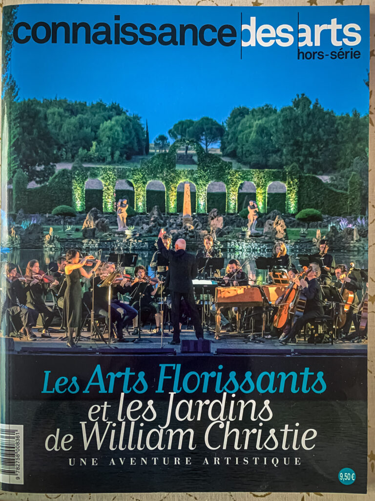 Aerial photos used in the Connaissance des Arts special issue