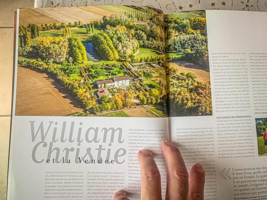 Photos aérienne utilisée dans le hors-série Connaissance des Arts