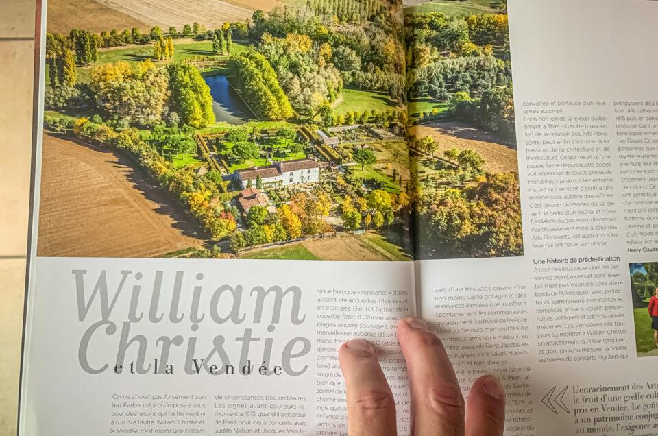 Photo aérienne utilisée dans le hors-série Connaissance des Arts