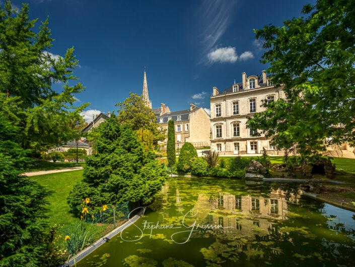 Le jardin des cordeliers de Fontenay-le-Comte