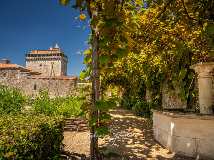 Le jardin médiéval de Bazoges en Pareds