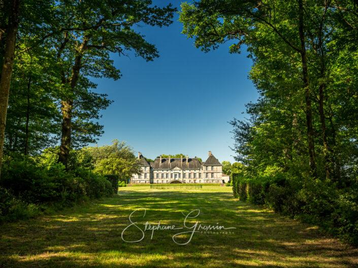 The Park of the Château de La Baugisière
