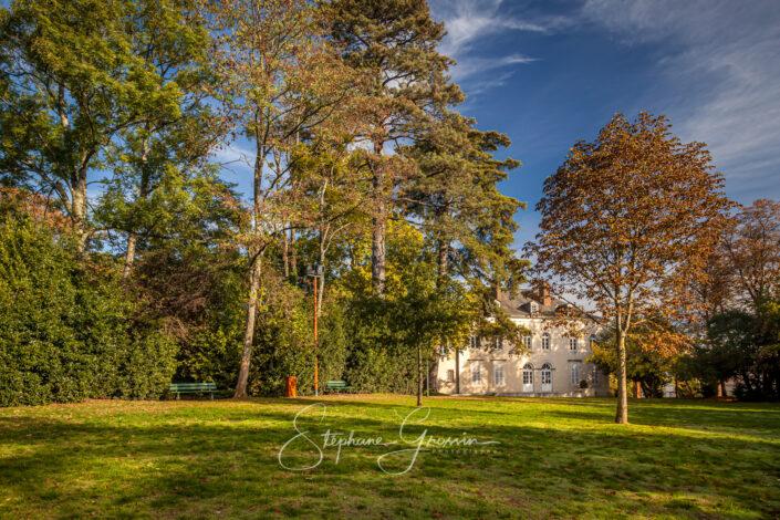 Le parc Clemenceau de la ville de Chantonnay en Vendée